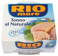 Тунец в собственном соку Rio Mare Tonno al Naturale 80г. (Италия)