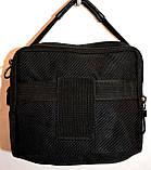 Чоловічі барсетки та сумки зі штучної шкіри (ЧОРНИЙ), фото 2
