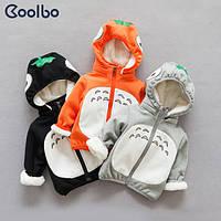 Курточка зимняя для малышей с мехом