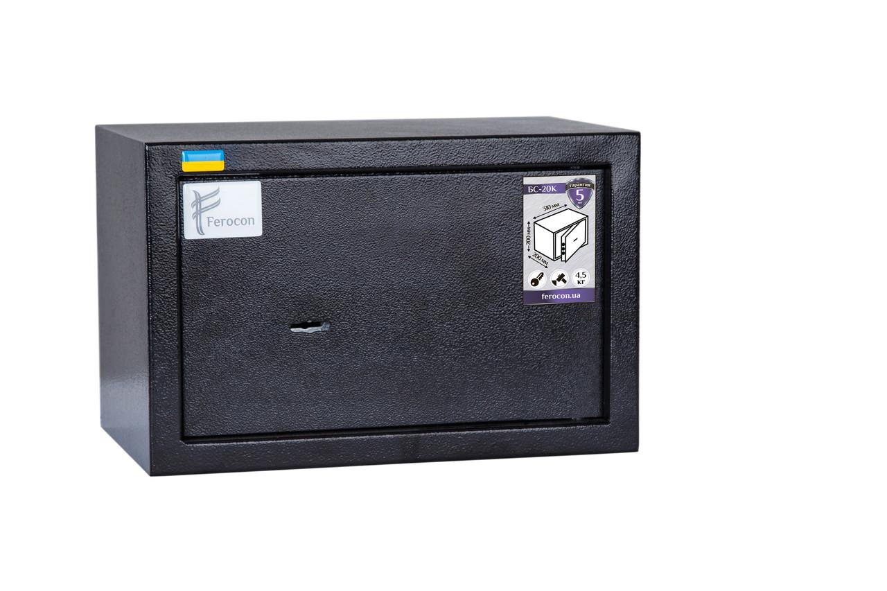 Мебельный сейф Ferocon серия БС-20К.9005