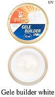 Моделирующий гель-желе F.O.X Gele builder gel UV (белый)15 мл