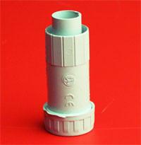 Муфта армированная труба - жесткая труба, IP67, д.40мм, DKC, 55240