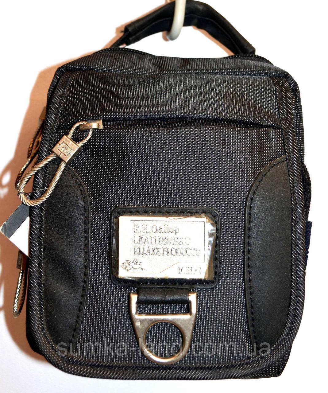 Текстильные мужские барсетки и сумки на плечо (в ассортименте)