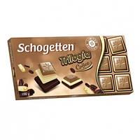 Шоколад Schogetten  Trilogia Coffee 100 г (Германия), фото 1