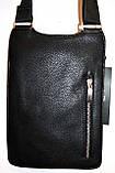 Мужские барсетки и сумки из искусственной кожи (ЧЕРНЫЙ), фото 2