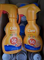 Солнцезащитный спрей Cien Sun Spray Kids SPF 50, 250 мл