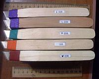 Резцы (Стамески) для резьбы по дереву, пластику, картону. В наборе 5 штук. т. м.