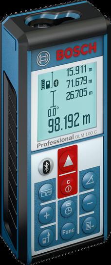Лазерный дальномер Bosch GLM 100 C