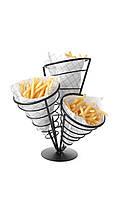 Подставка для картофеля-фри для 3 пакетов 630921 Hendi (Польша)