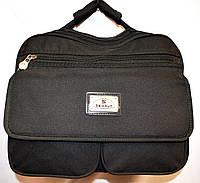 Текстильные мужские барсетки и сумки на плечо (ЧЕРНЫЙ), фото 1