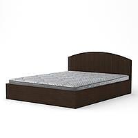 Кровать с матрасом 140 венге темный Компанит (144х202х75 см)