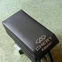 Подлокотник модельный Cherry Amulet с логотипом серый