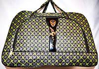 Женские дорожные сумки из текстиля 54х34 (ЗЕЛЕНЫЙ)