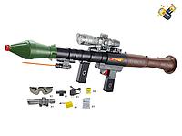 Детский автомат F15A стреляющий водяными шариками пулями
