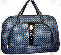 Женские дорожные сумки из текстиля 54х34 (СИНИЙ)
