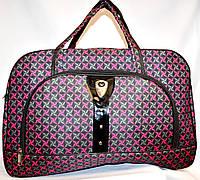 Женские дорожные сумки из текстиля 54х34 (ФИОЛЕТОВЫЙ)