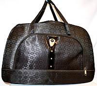 Женские дорожные сумки из текстиля 54х34 (ЧЕРНЫЙ)