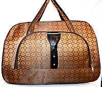 Женские дорожные сумки из текстиля 54х34 (КОРИЧНЕВЫЙ), фото 1