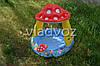 Детский надувной бассейн с навесом грибок 57114, фото 5
