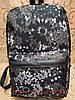 Принт рюкзак качество с кожаным дном Унисекс/спортивный спорт городской стильный(только опт)