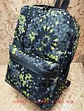 Принт рюкзак качество с кожаным дном Унисекс/спортивный спорт городской стильный(только опт), фото 2