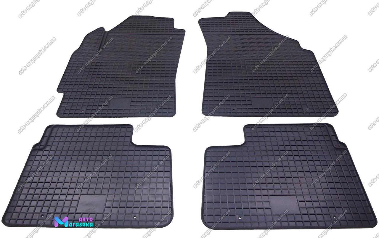 Коврики резиновые для Daewoo Matiz 2005-2008 (POLYTEP CLASSIC)