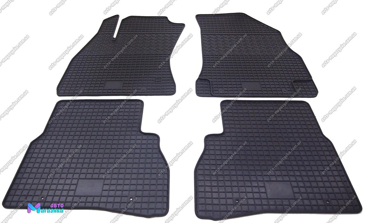 Коврики резиновые для Opel Combo 2011- (POLYTEP CLASSIC)
