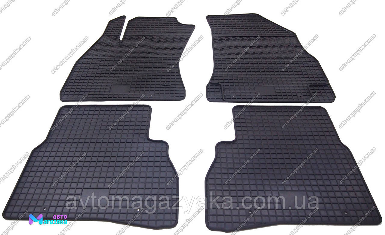 Коврики резиновые для Opel Combo 2011- (POLYTEP LUX)