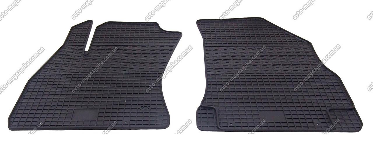 Коврики резиновые для Opel Combo 2011- Передние (POLYTEP LUX)
