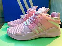 Кроссовки Adidas EQT Pink/white. Живое фото. Топ качество! (адидас eqt)