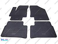Коврики резиновые для Hyundai Accent 2006-2010 (POLYTEP CLASSIC)