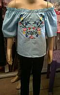 Летняя блуза на девочку