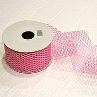 Лента декоративная 60 мм. (розовый)