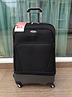 """Средний турецкий чемодан на четырёх колёсах бизнес класса фирмы """"CCS"""" VERMILION"""