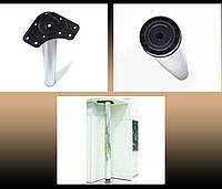 Ножки для столов Linken LS h-820 мм Хром d-60 мм