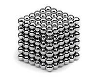 Головоломка NeoCube (Неокуб) 216 шариков, 3мм, Никель