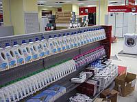 Стеллаж для магазина бытовой техники. Торговое оборудование в магазин электроники. Стеллажи WIKO ВИКО Киев