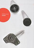 Ніжки для столів Linken LS h-820 мм Хром d-60 мм Алюміній