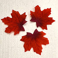 Листик декоративный осенний (красный)