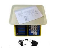 Весы торговые электронные ACS 40kg/5g MS 266 Domotec 4V
