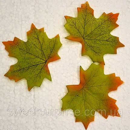 Листик декоративный осенний (зеленый), фото 2