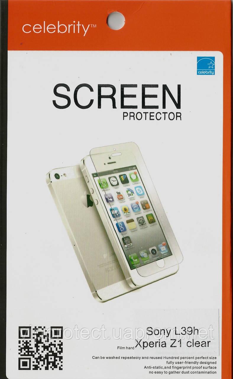 Sony Xperia_Z1, глянцевая пленка L39h
