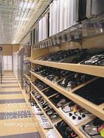 Стеллажи в магазин под встроенную технику. Стеллаж для магазина электроники. Оборудование для магазина