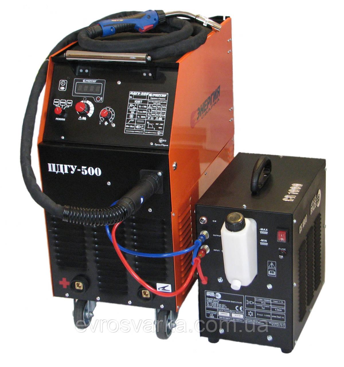 Сварочный полуавтомат ПДГУ-500 (Инвертор)
