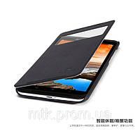 Чехол-книжка NILLKIN для телефона Lenovo S930 чёрный (матовый + кожа)