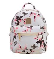 Модный белый рюкзак код 3-269