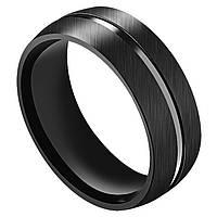 Мужское кольцо из стали матовое, р. 17.5, 18, 19, 20, 20.7
