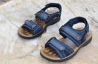 Босоножки, сандали мужские черные искусственная кожа регулируемый подъем, длина 2017. Лови момент