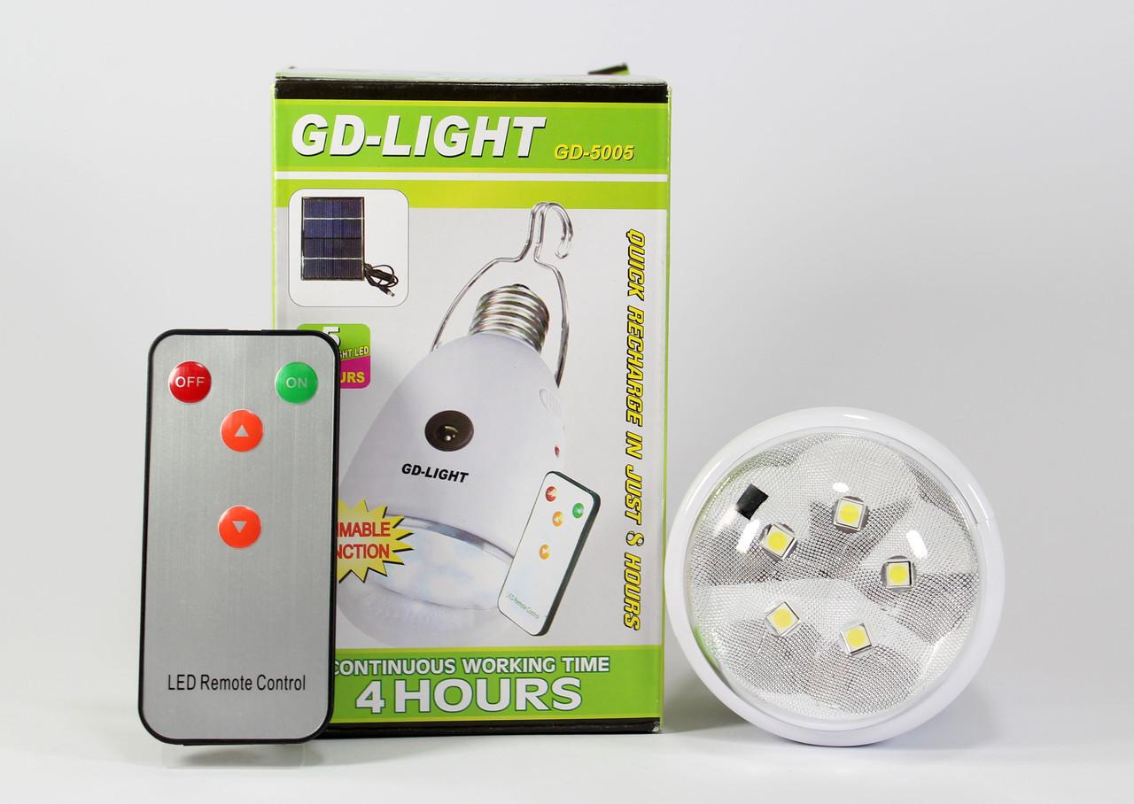 Светодиодная лампа с аккумулятором GDLite GD-5005  - интернет-магазин «S-Trade» в Киеве