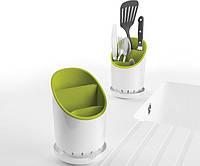 Подставка Сушилка для Кухонных Приборов Органайзер Cutlery Drainer and Organiser